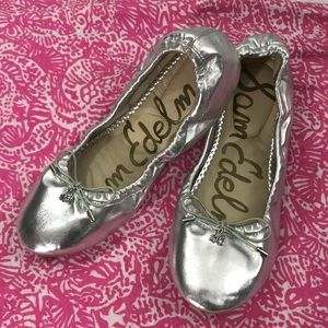 Sam Edelman Shoes - Sam Edelman Felicia Metallic Ballet Flat